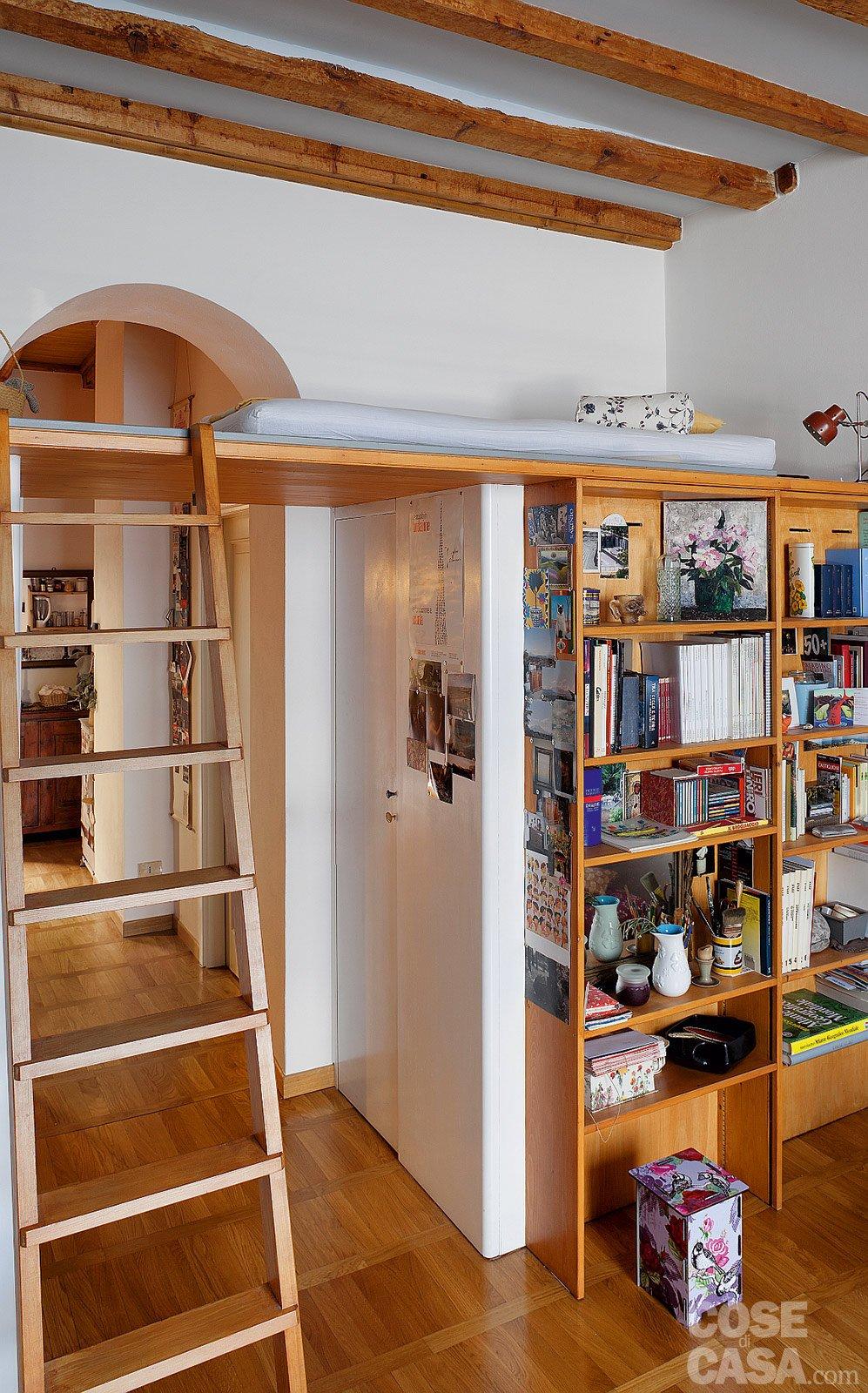 casa di 60 mq con soppalco : Bilocale di 40 mq, una casa fai da te - Cose di Casa