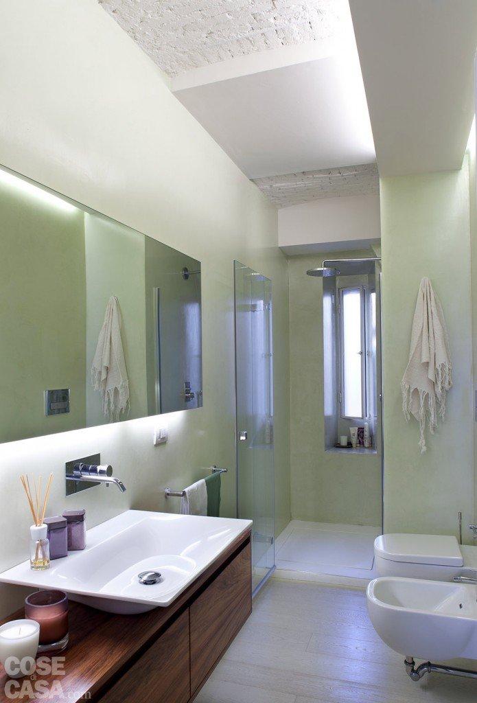 spazio guadagnato per la casa di 63 mq cose di casa. Black Bedroom Furniture Sets. Home Design Ideas
