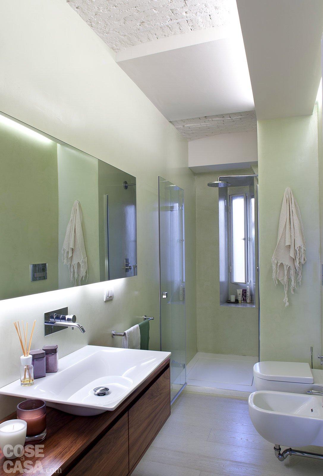 Spazio guadagnato per la casa di 63 mq cose di casa - Cartongesso per bagno ...