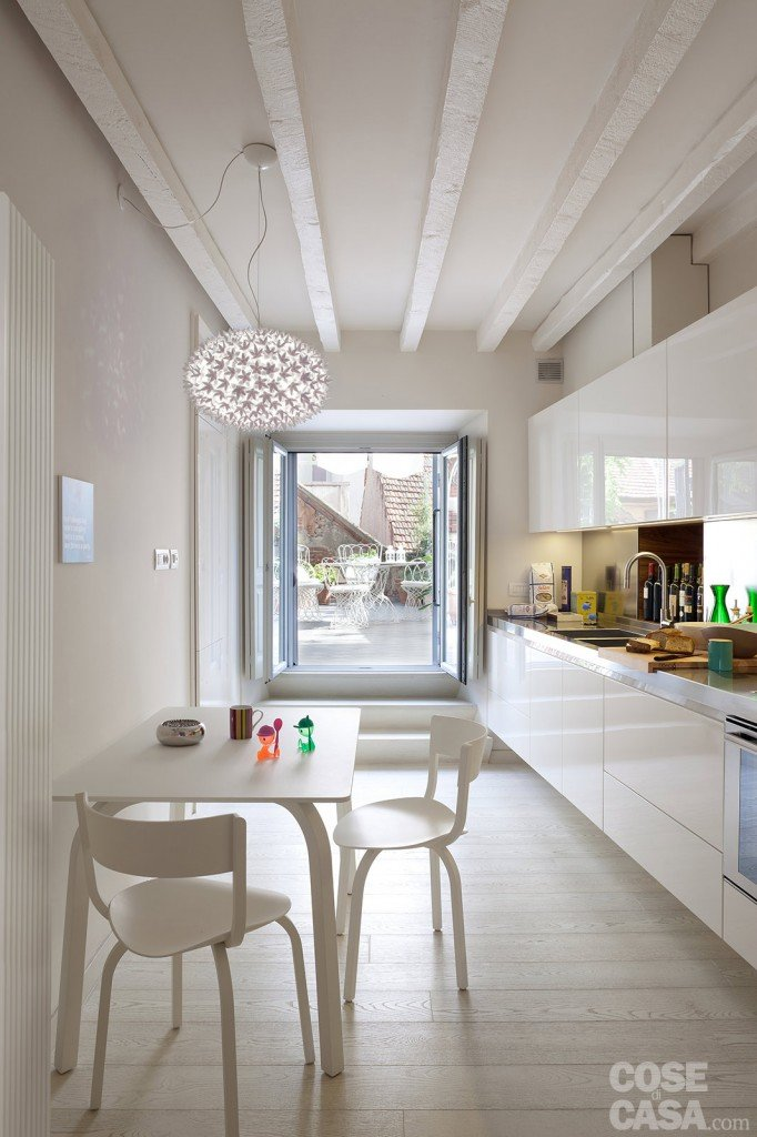 Spazio guadagnato per la casa di 63 mq cose di casa for Cose di casa cucine