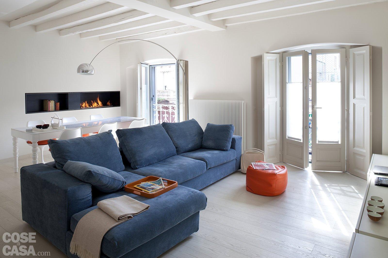 Spazio guadagnato per la casa di 63 mq cose di casa for Soggiorno living