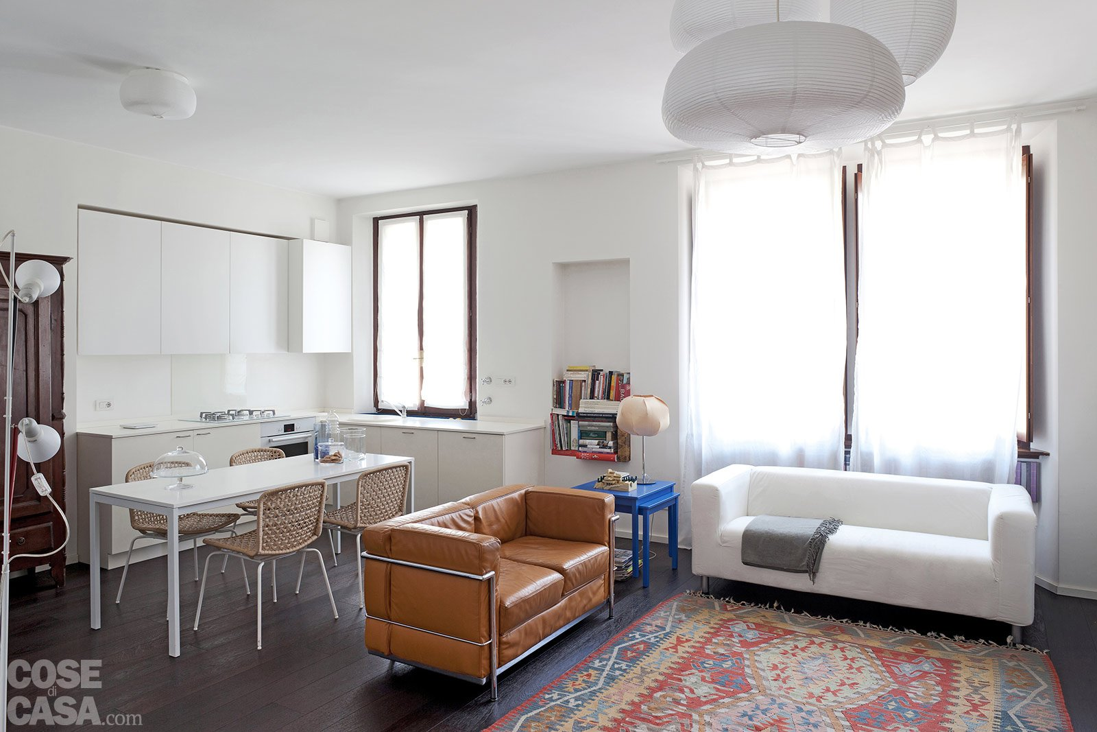 70 mq la casa migliora cos cose di casa - Arredare monolocale ikea ...