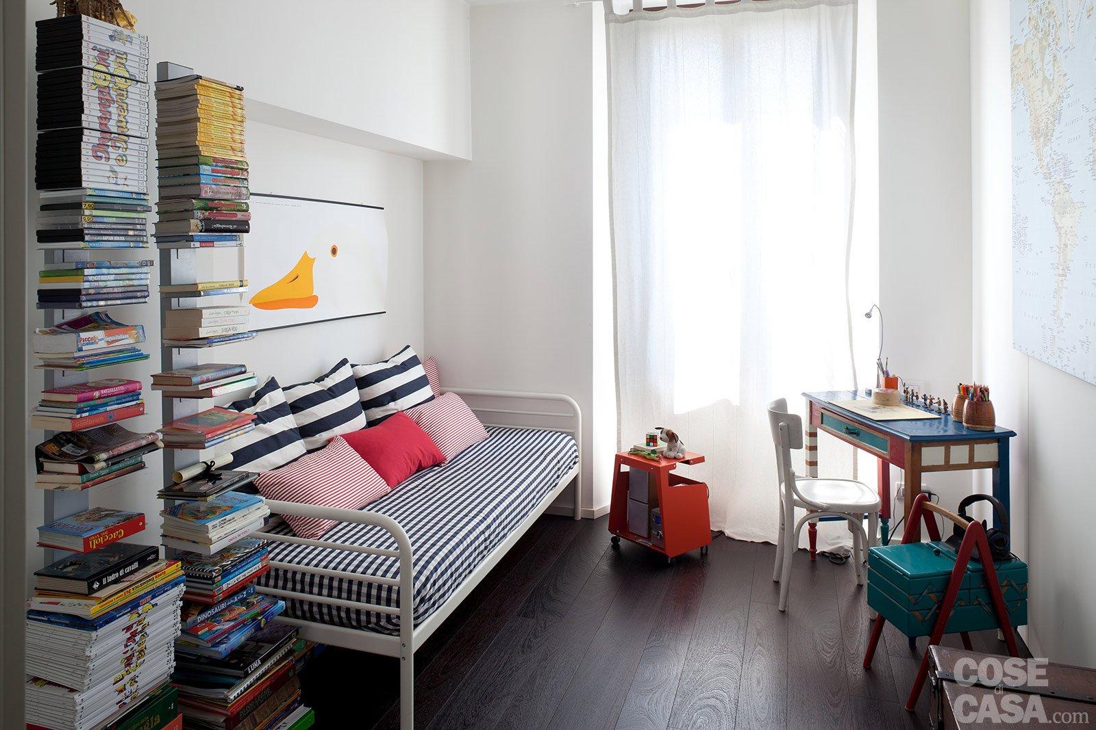 70 mq la casa migliora cos cose di casa for Camera letto e studio