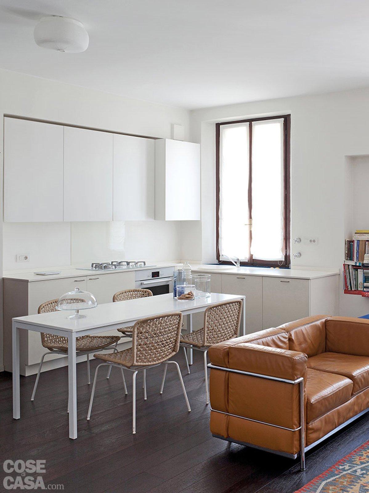 70 mq la casa migliora cos cose di casa - Sala cucina 25 mq ...