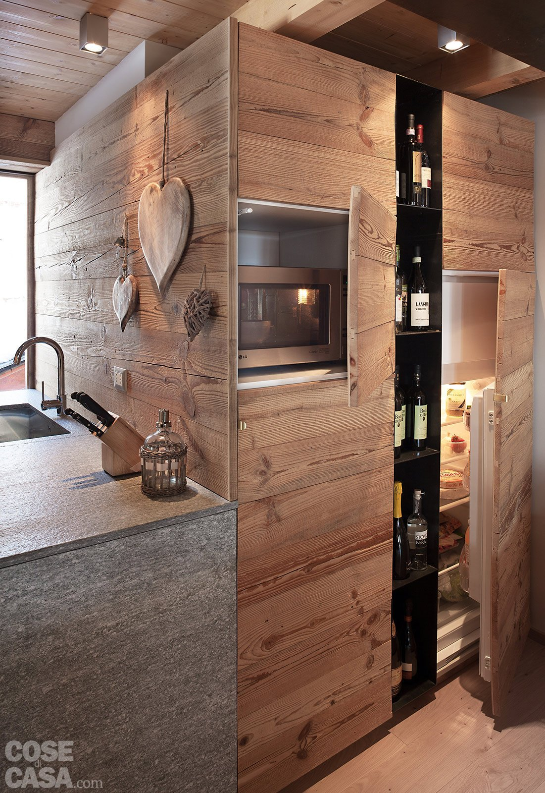 Ante Cucina Fai Da Te.Chalet Moderno Una Casa Di Montagna In Stile Rustico