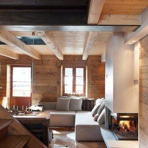 Chalet camino montagna for Casa moderna accogliente
