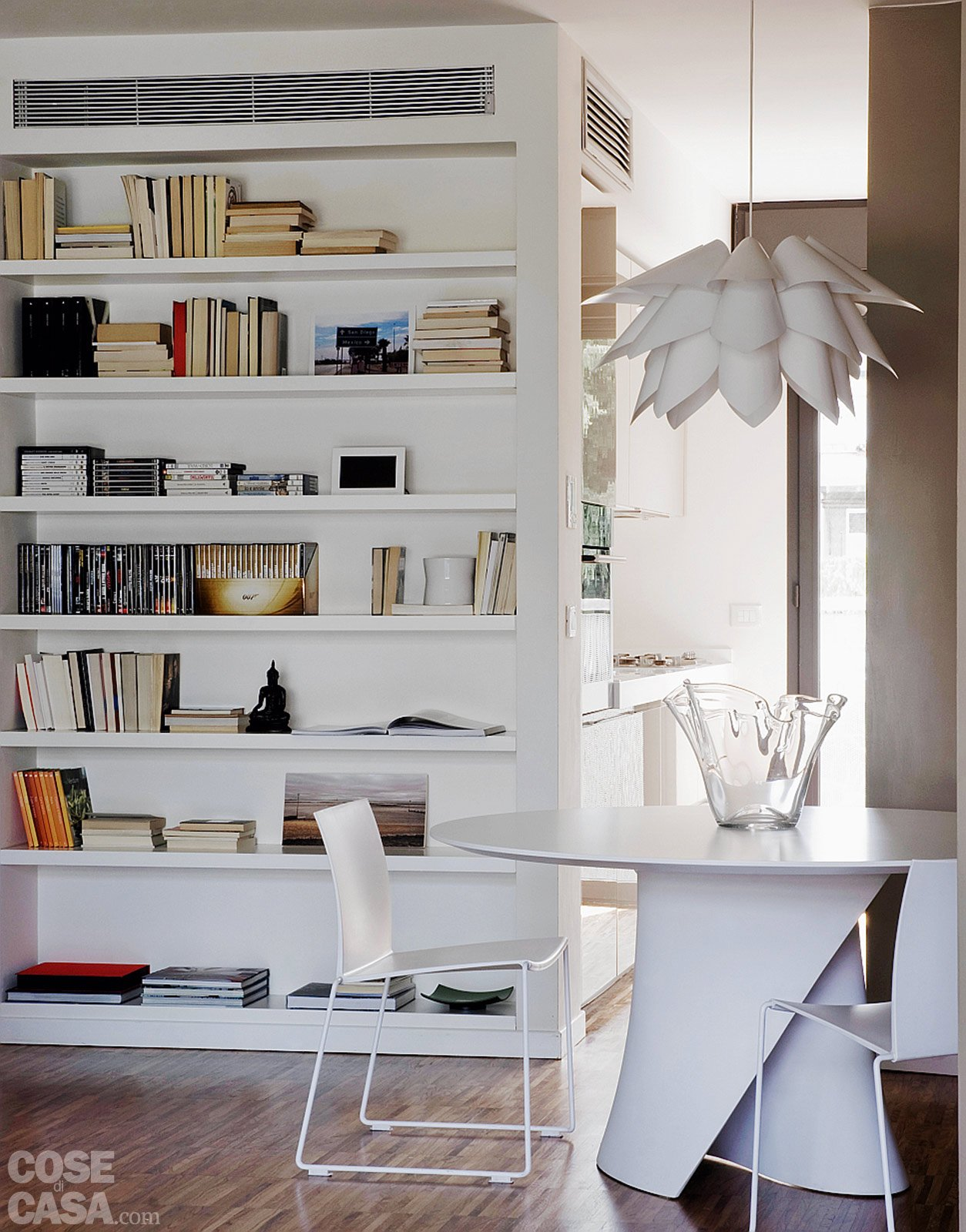 Una casa alla ricerca della luce cose di casa - Parete divisoria casa ...