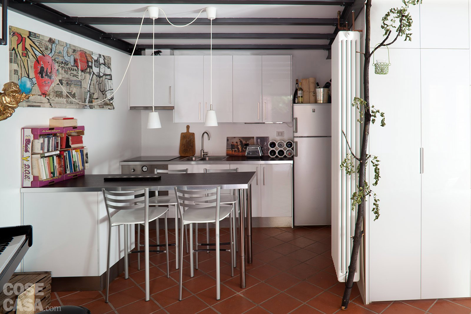 Casabook immobiliare da box a casa un incredibile for Arredare un corridoio ikea