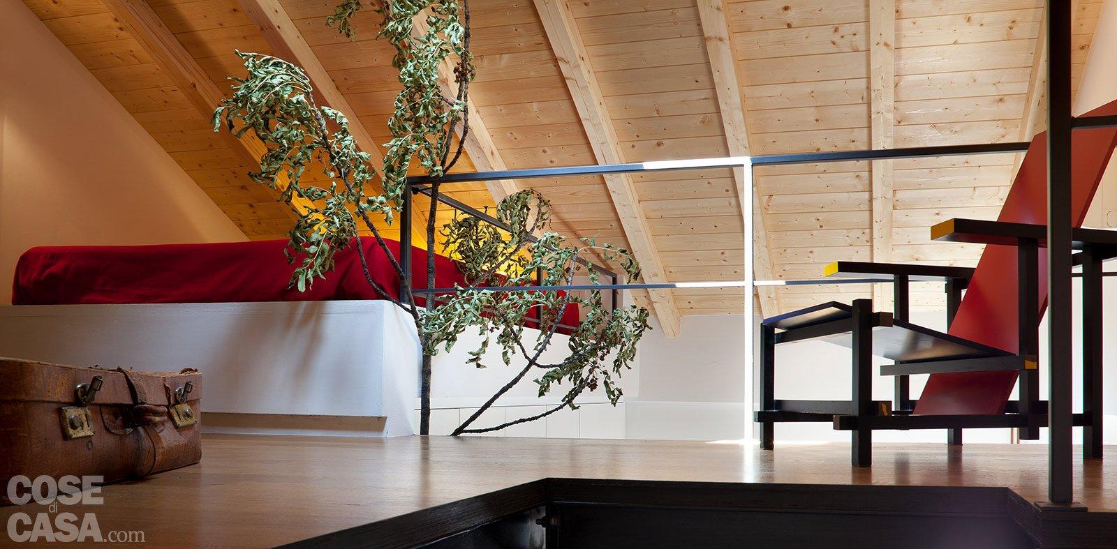 Casa fortunati fiorentini soppalco sedia for Piccoli piani di case gratuiti