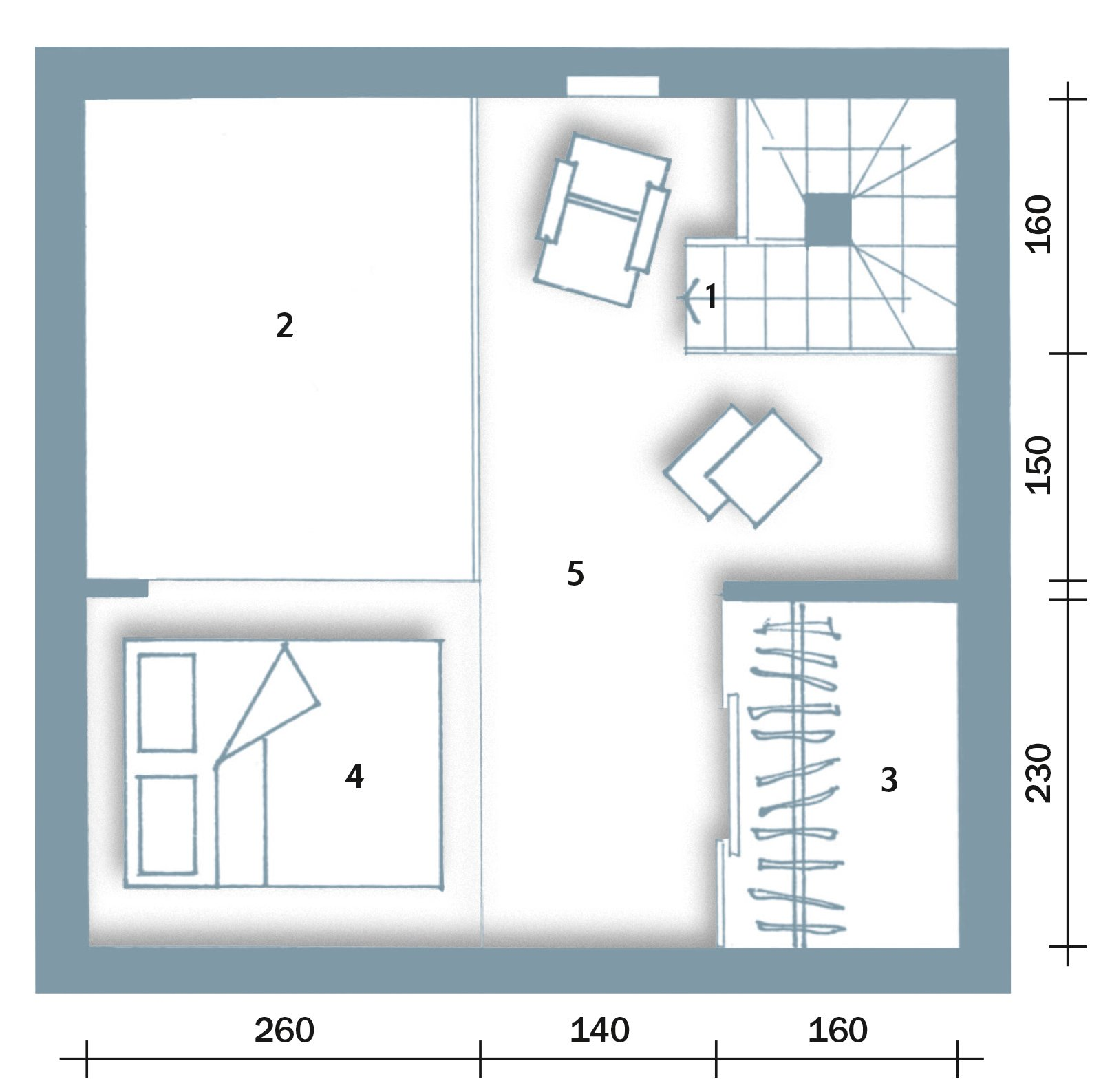 Casabook immobiliare da box a casa un incredibile for Casa al secondo piano