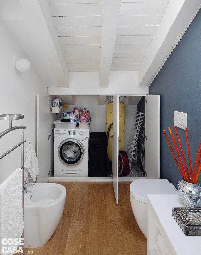 60 50 mq una casa con elementi a scomparsa cose di casa - Bagno sottoscala ...