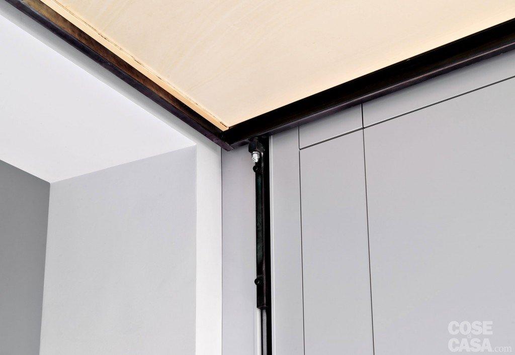 33 mq una casa sfruttata in lunghezza cose di casa - Altezza parapetti finestre normativa ...