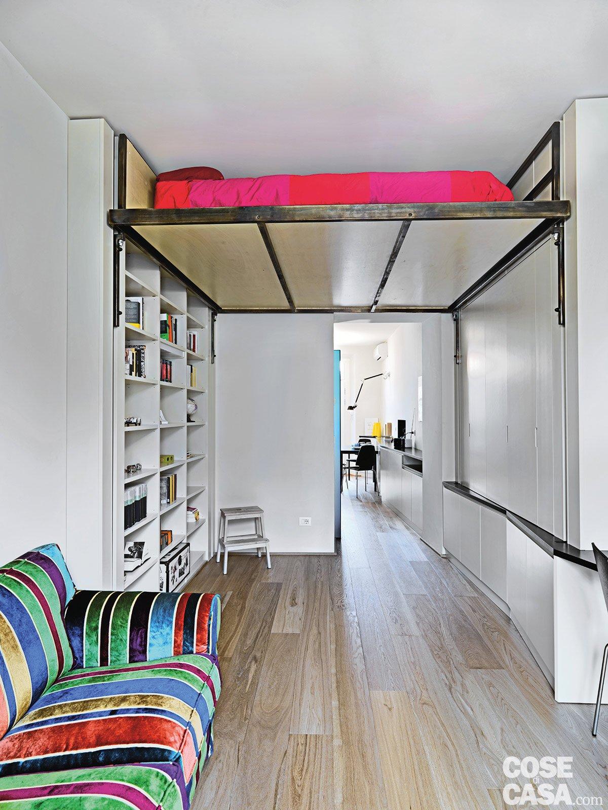 33 mq una casa sfruttata in lunghezza cose di casa for Cose per casa