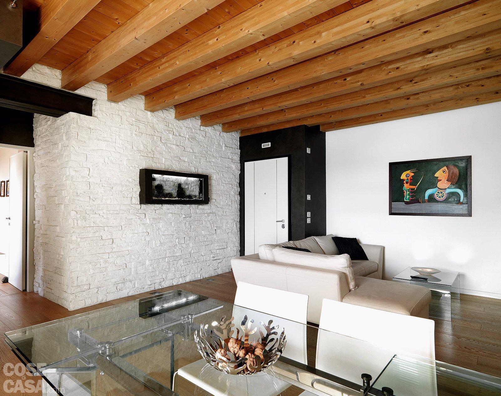 Casa con 10 trucchi 83 mq sembrano pi grandi cose di for Grandi pavimenti del garage