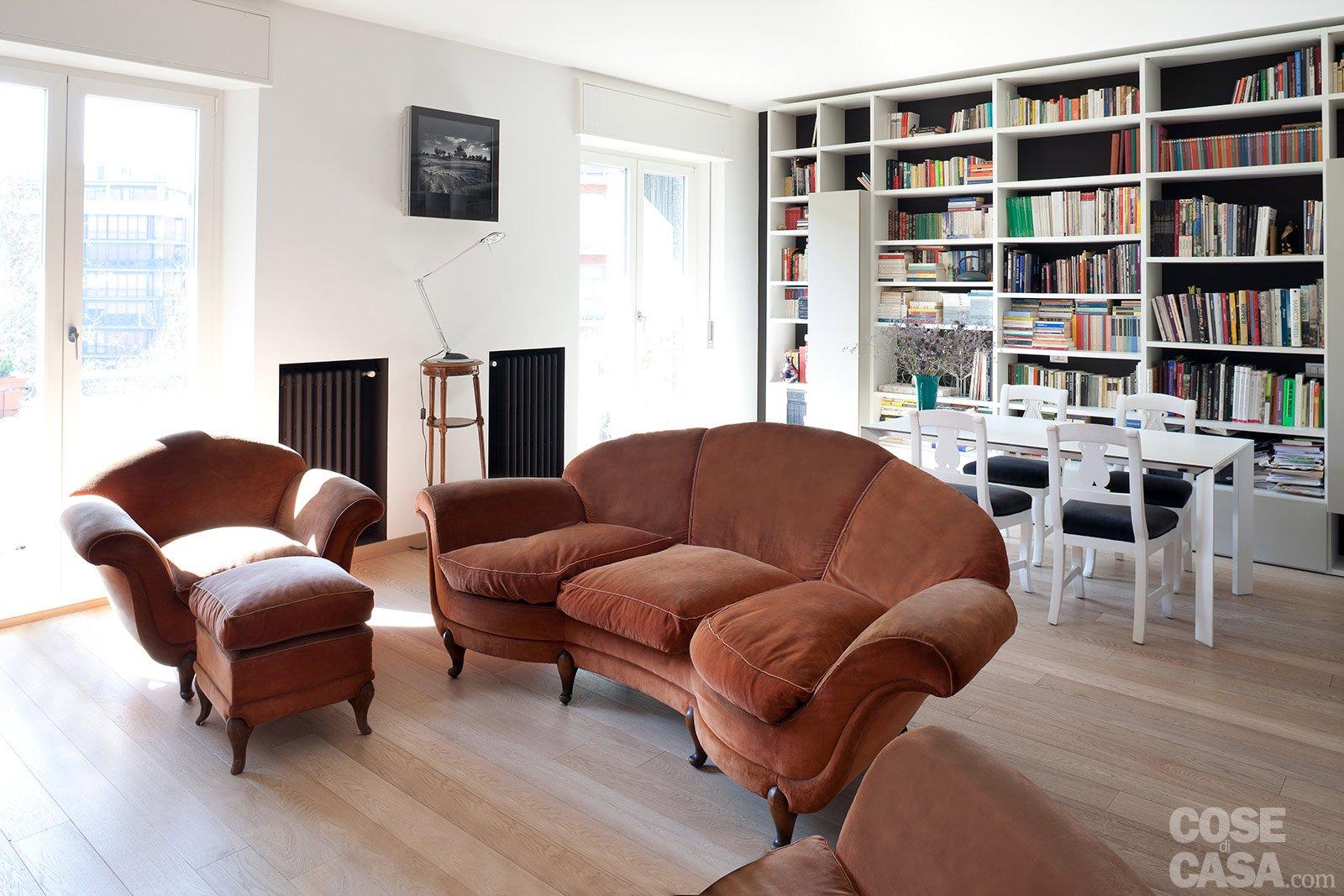arredamento salotto vintage: colori arredamento: idee per ... - Arredare Salotto Vintage Contemporaneo