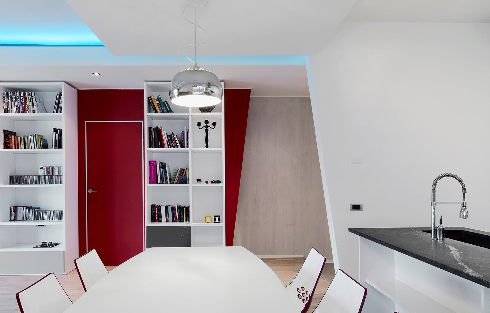 Una Casa Ristrutturata Ridisegnando Le Prospettive Interne Cose Di  #690B16 1600 1023 Sala Da Pranzo Palazzo Stoclet