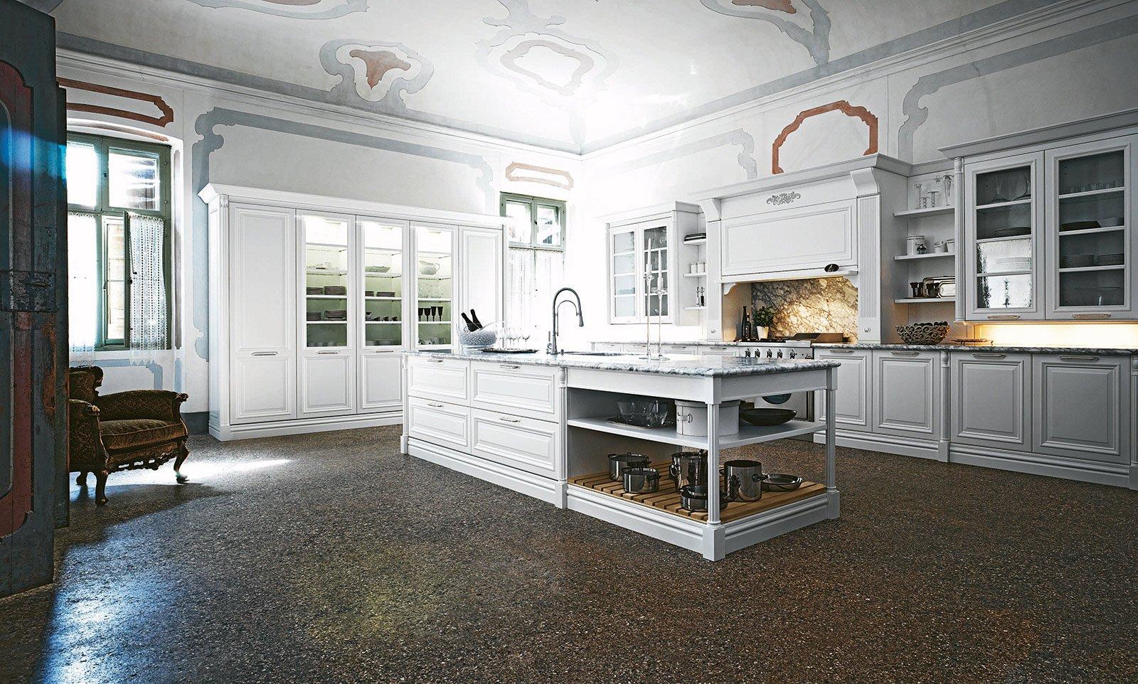 La Particolarità Dell'elegante Composizione Elite Di Cesar è Il  #4E697D 1600 962 Immagini Di Cucine Di Ristoranti
