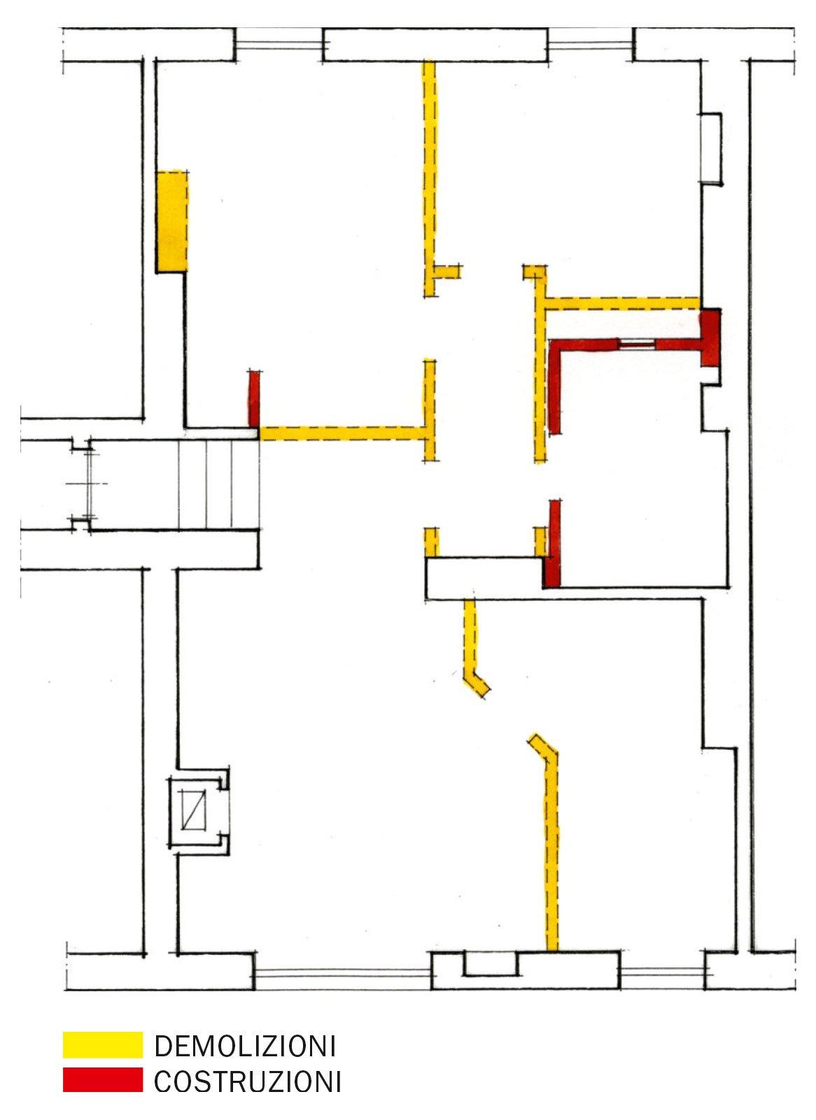 70 mq la casa migliora cos cose di casa for Planimetria semplice con dimensioni