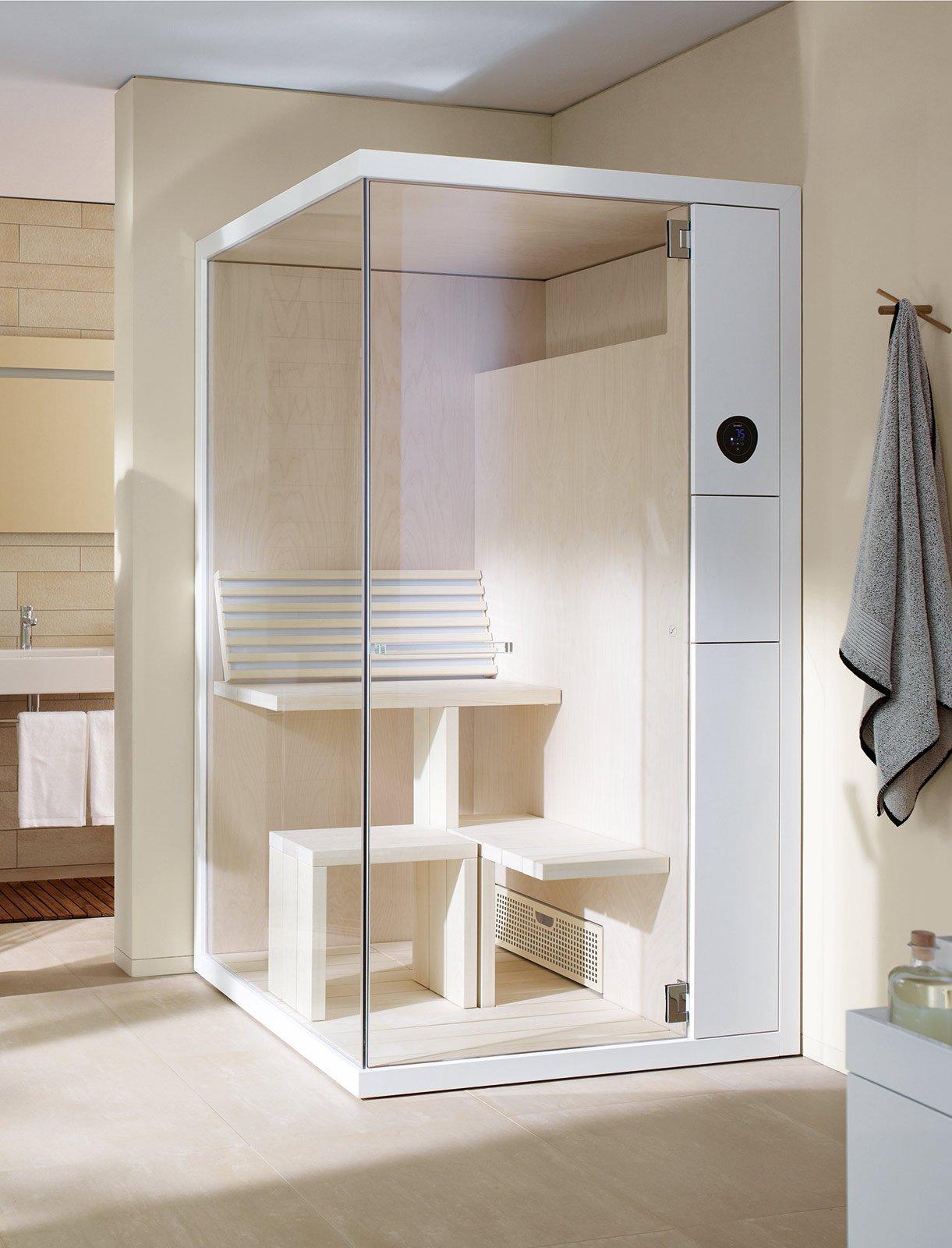 Latest la mostra il quadro x per sauna finlandese misura l - Costo sauna per casa ...