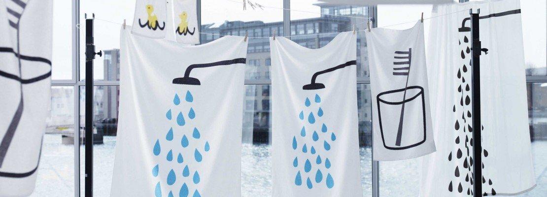 Asciugamani e spugne per il bagno   cose di casa