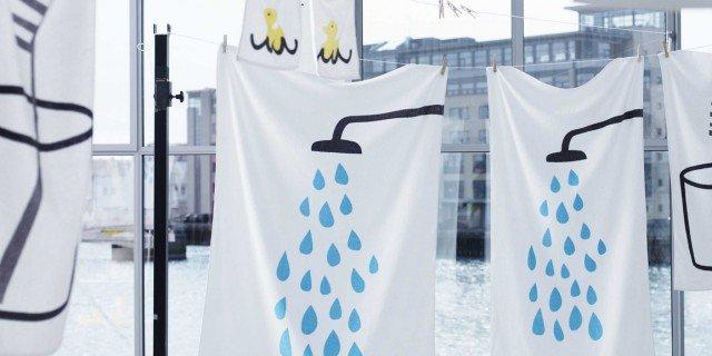 Asciugamani e spugne per il bagno