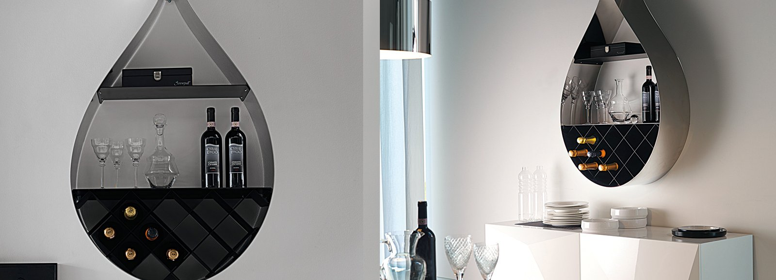 Cantinette per la tua enoteca privata cose di casa - Oggettistica moderna per la casa ...