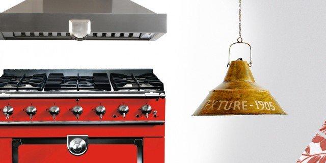 In cucina un tocco di rosso