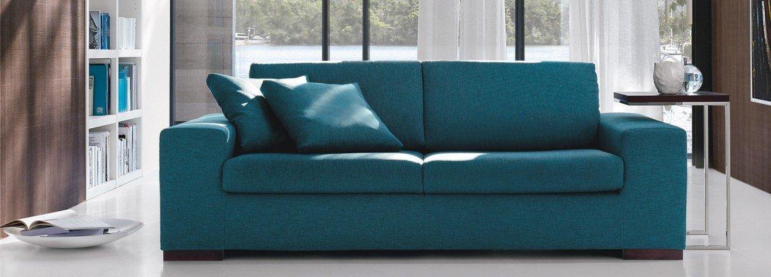Divano blu idee per il design della casa - Divano letto blu ...