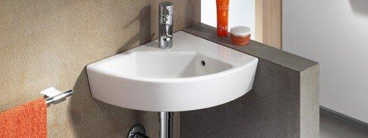 Lavabi accessori bagno cose di casa - Lavabo ad angolo ...