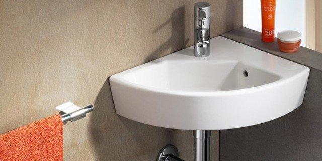Lavabo Ad Angolo Con Mobiletto.Lavabi Ad Angolo E Lavamani Per Il Bagno Di Casa Cose Di Casa