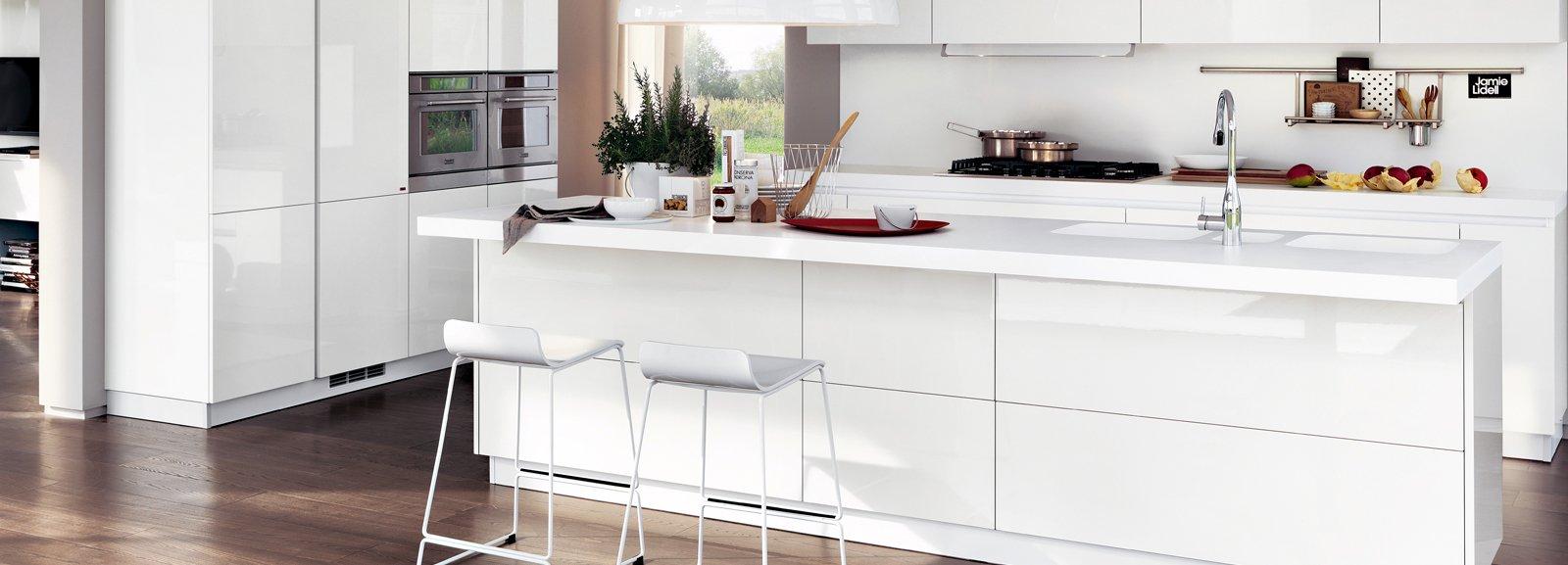 Cucina la voglio tutta bianca cose di casa - Cucina moderna bianca ...