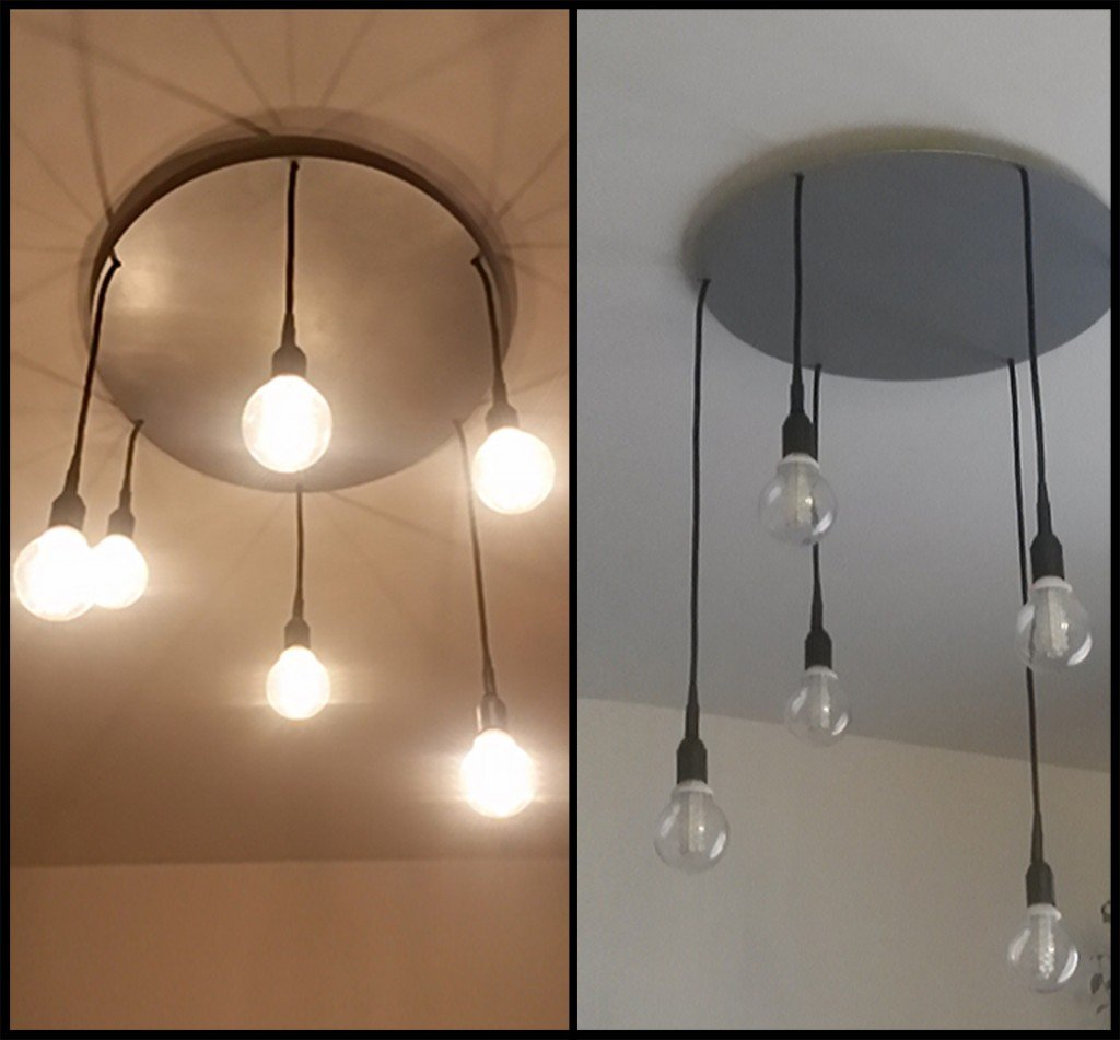 Lampadario a sospensione low cost cose di casa for Lampadari design low cost