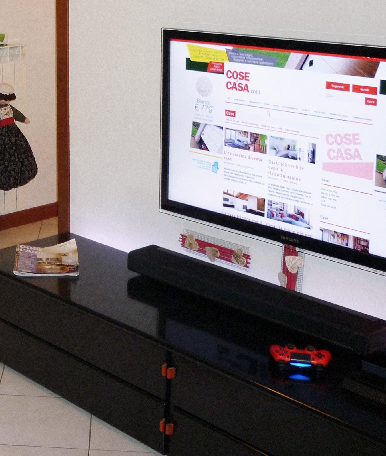 Canalina Per Fili Tv come nascondere sulla parete i fili della tv? - cose di casa