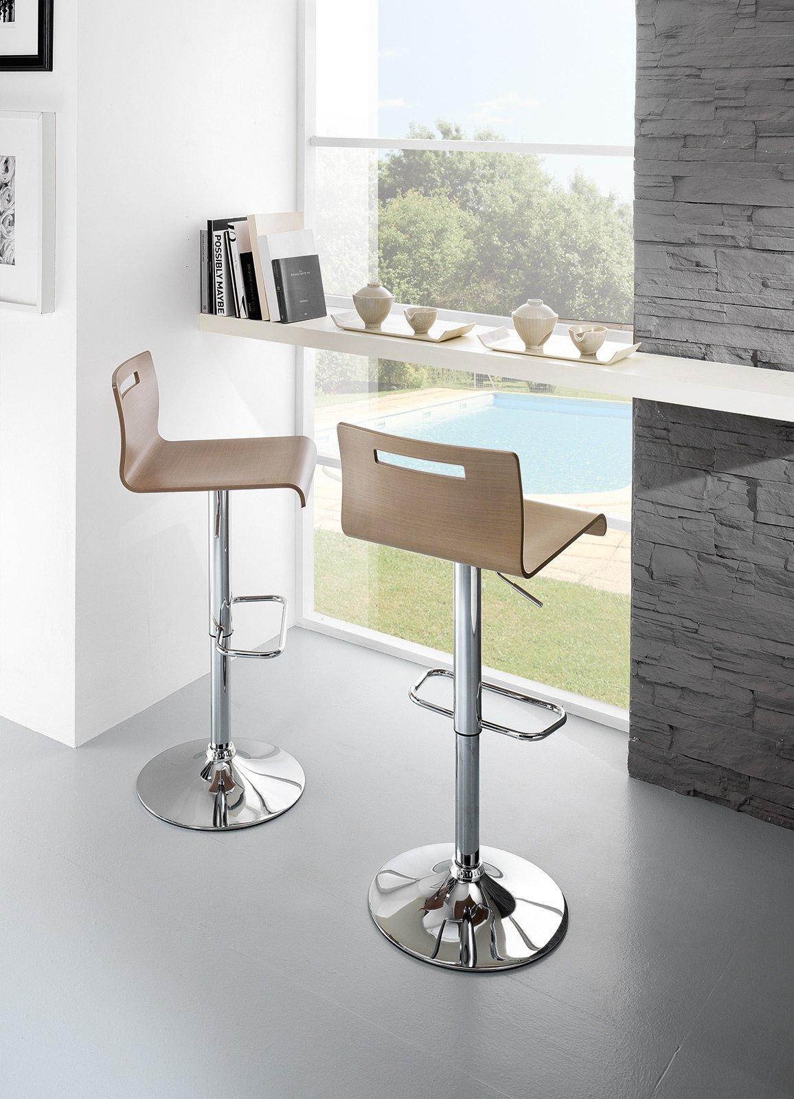 Sgabelli scegli il tuo stile cose di casa - Sgabelli in legno per cucina ...