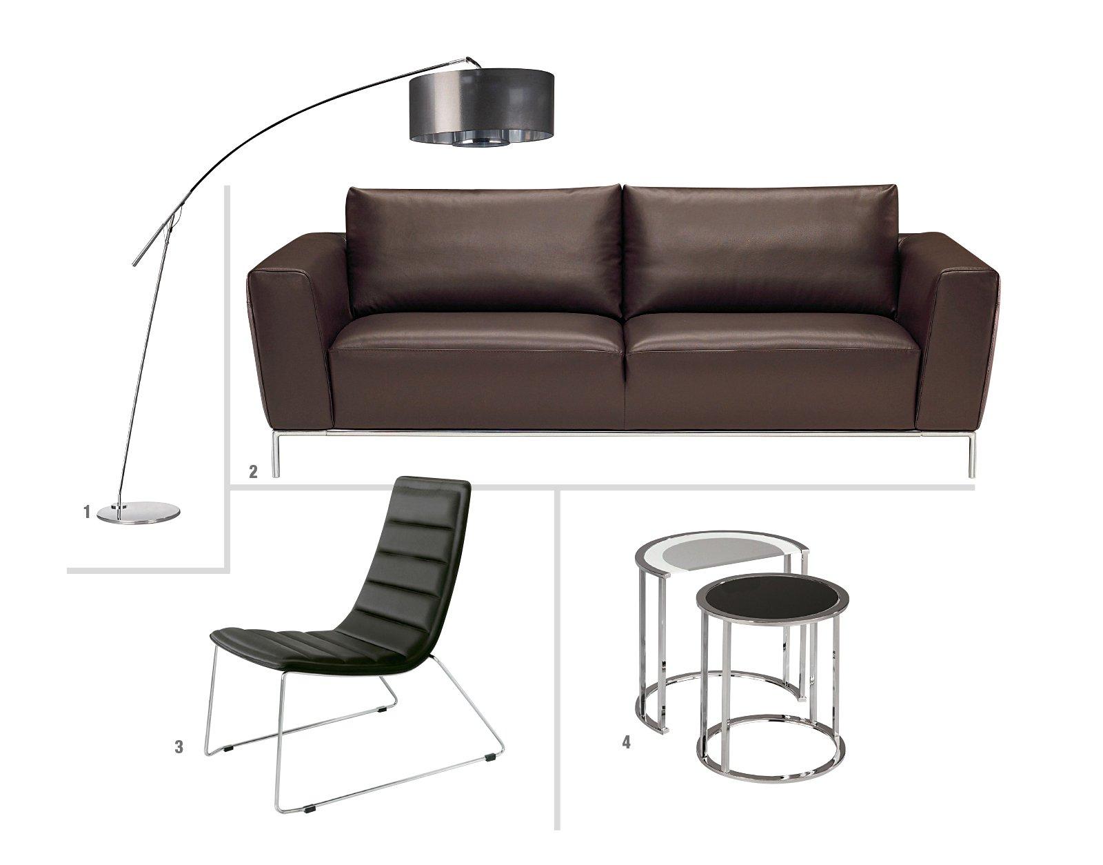 Zona conversazione tutto chiaro o tutto scuro cose di casa for Mercatone uno divani letto 129 euro