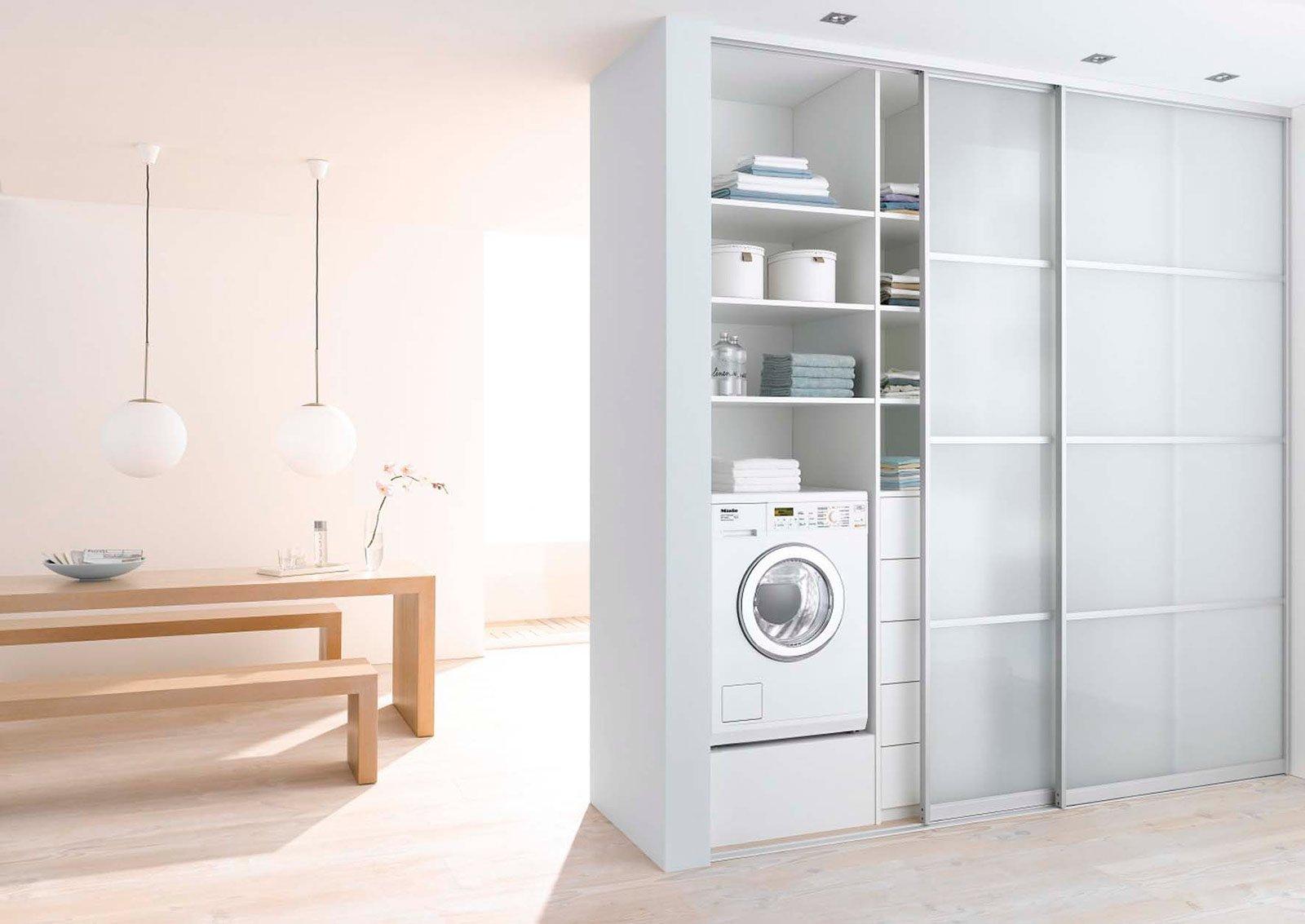 Lavasciuga salvaspazio e salvatempo cose di casa - Mobili per lavatrice ...