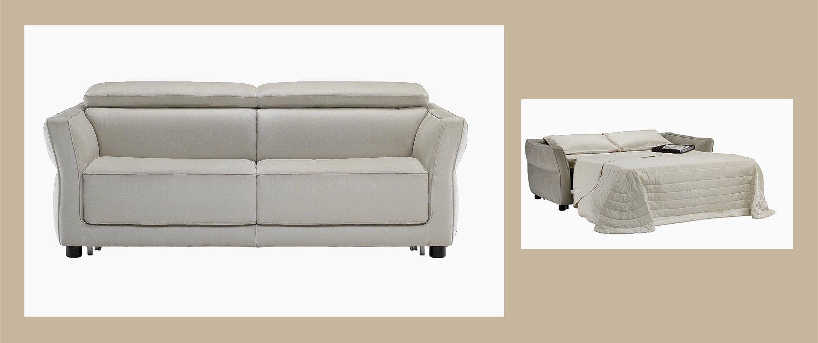 Divano o letto imbottiti trasformabili cose di casa for Rivestire un divano quanto costa