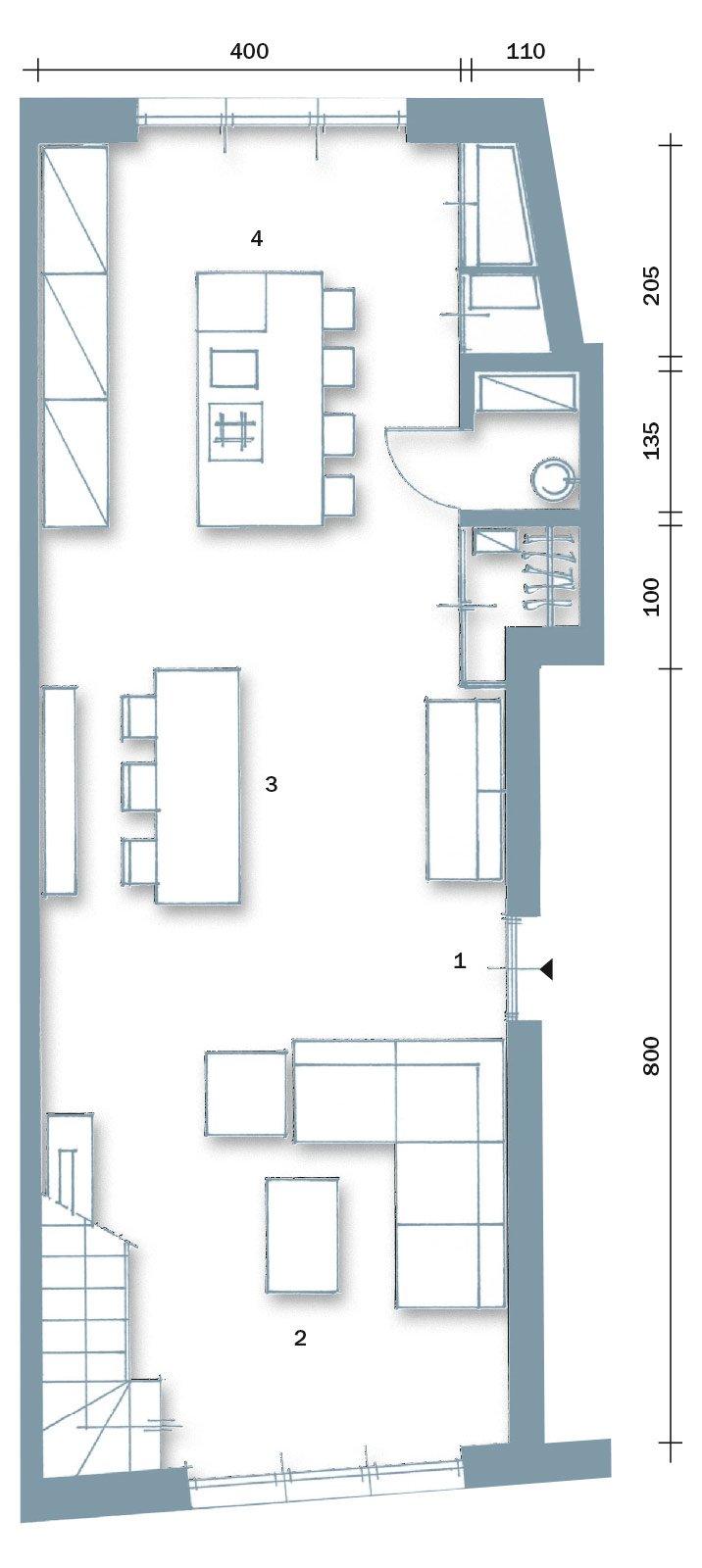 60 50 mq una casa con elementi a scomparsa cose di casa for Fare una pianta della casa
