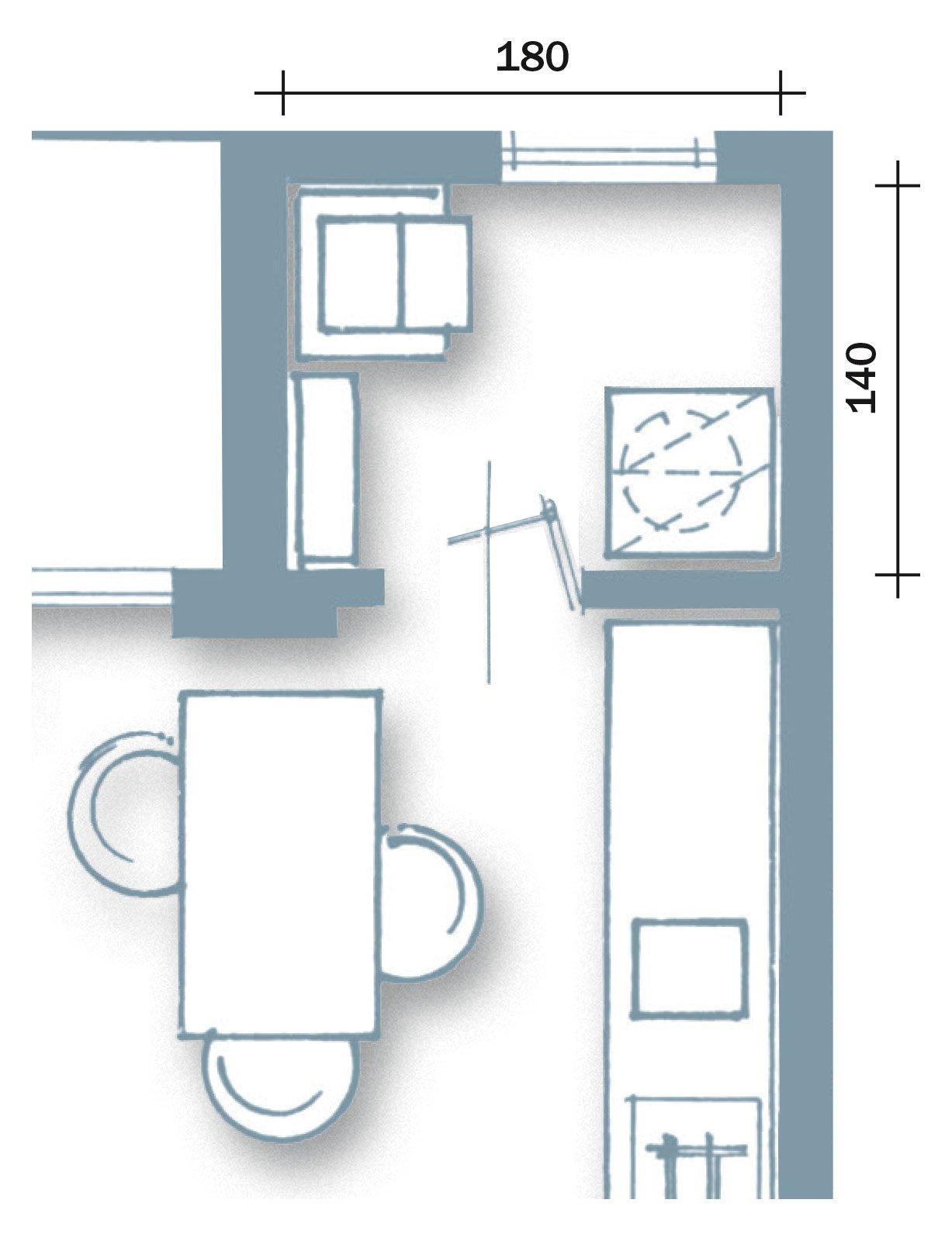 Casabook Immobiliare: Ambienti contemporanei per una casa di taglio ...