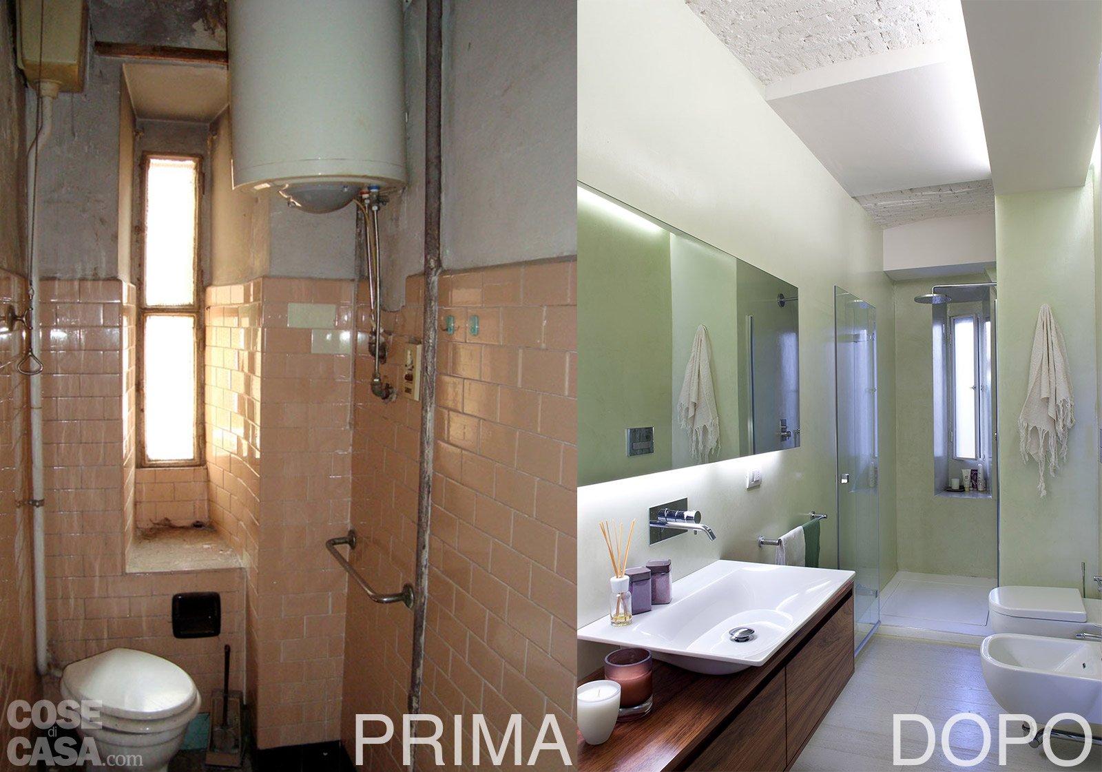 Spazio guadagnato per la casa di 63 mq cose di casa - Frontline dopo bagno ...
