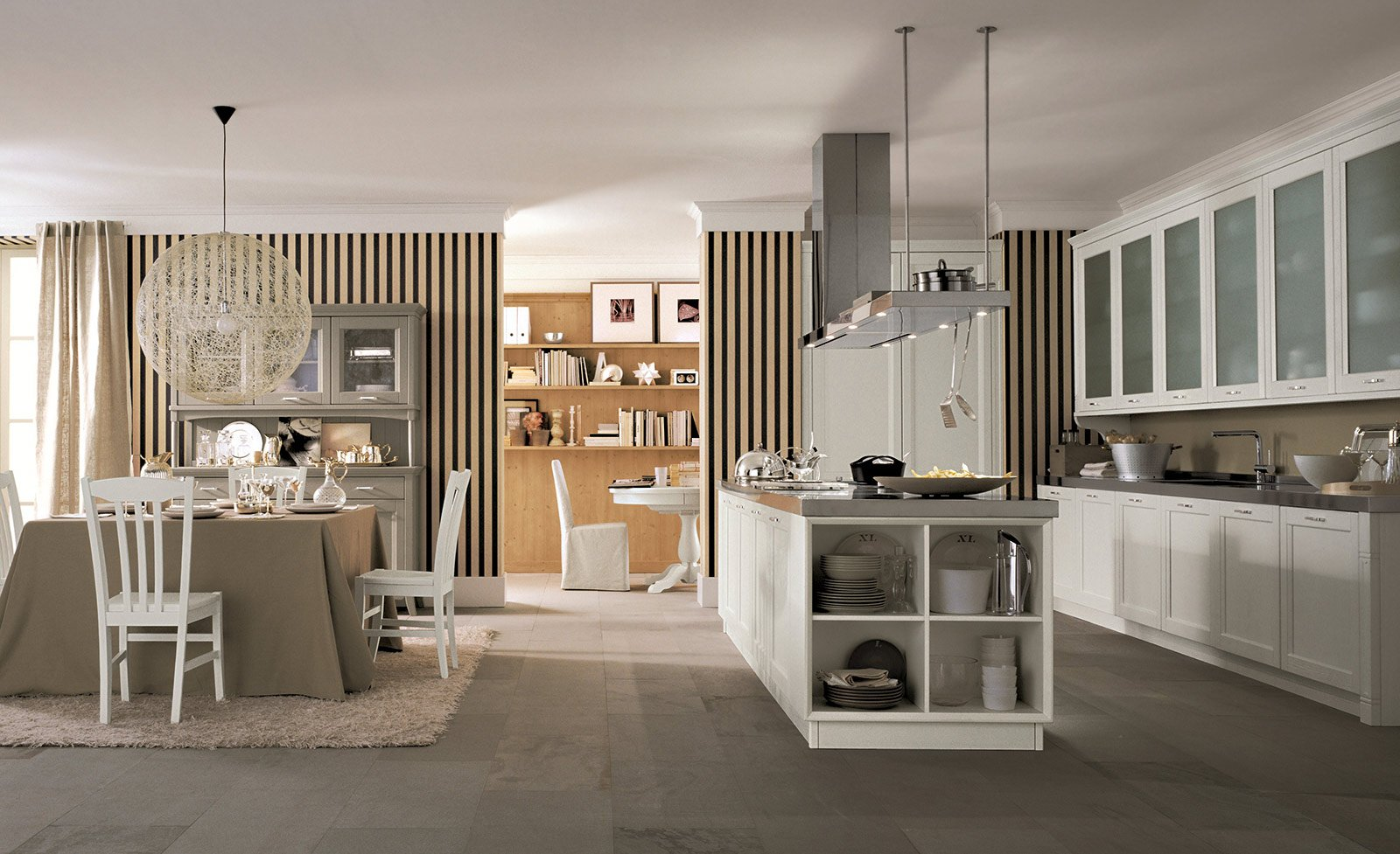 cucina: la voglio tutta bianca - cose di casa - Cappa Cucina Sospesa