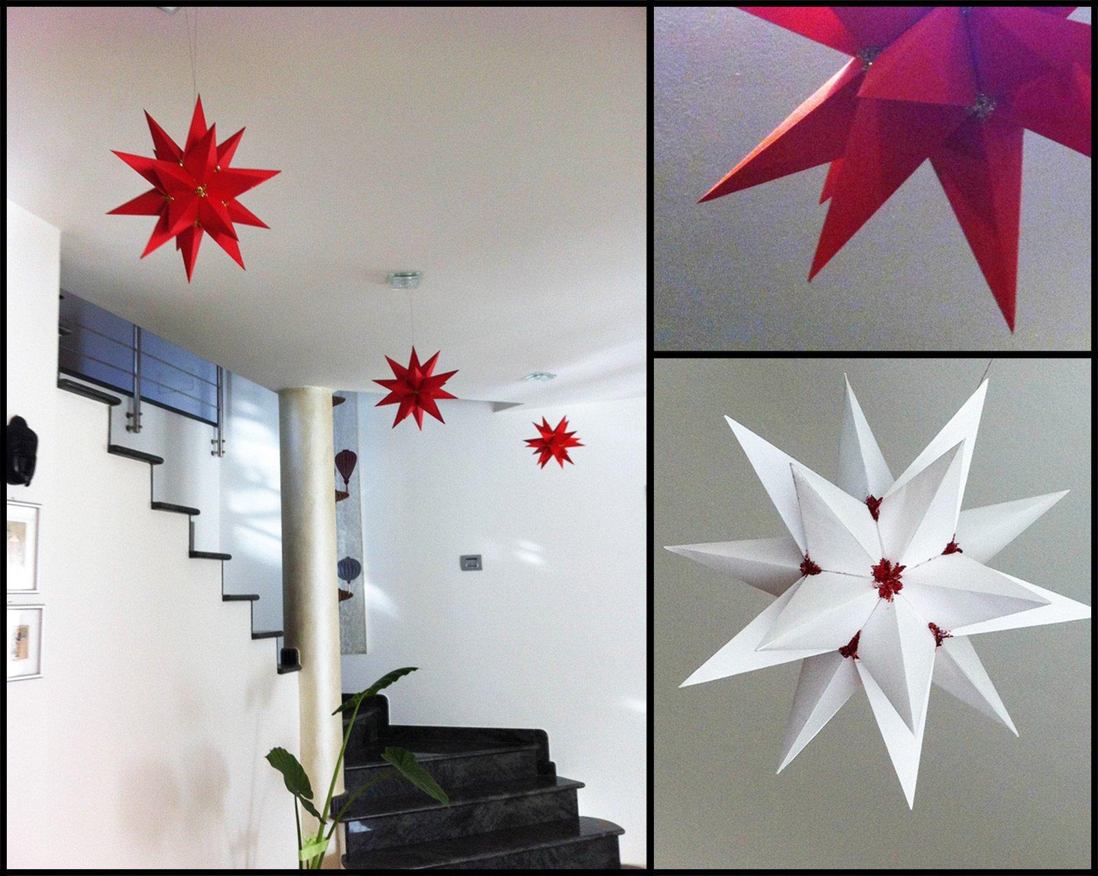 Origami stelle per natale cose di casa for Cestello per montacarichi fai da te