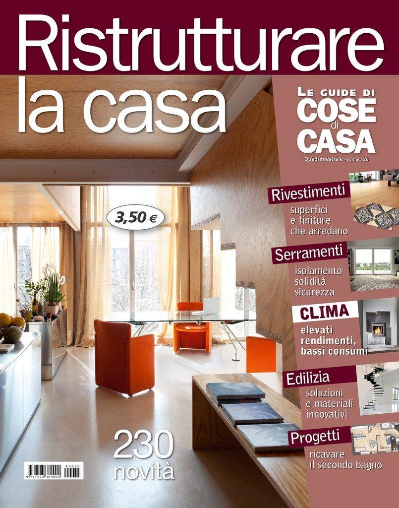In edicola dal 24 febbraio ristrutturare la casa cose di for Ristrutturare la casa