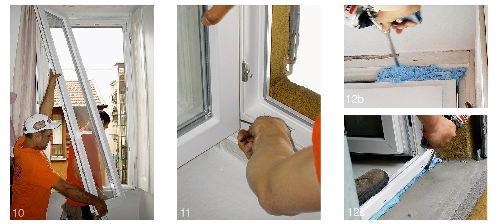 Sostituire le finestre 14 fasi di lavoro cose di casa - Finestre in legno gia pronte ...