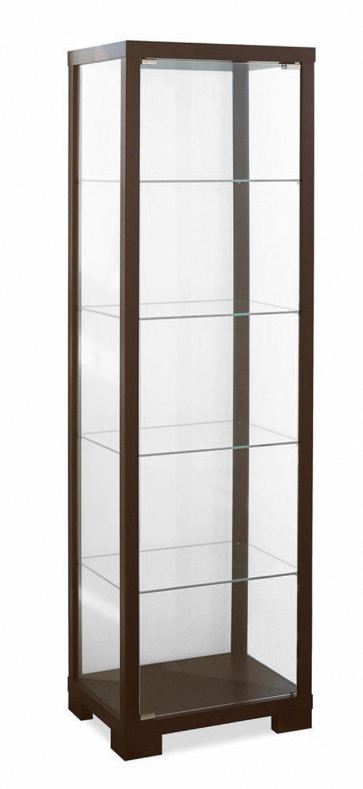Mobili con anta in vetro cose di casa - Mobile vetrina moderno ...