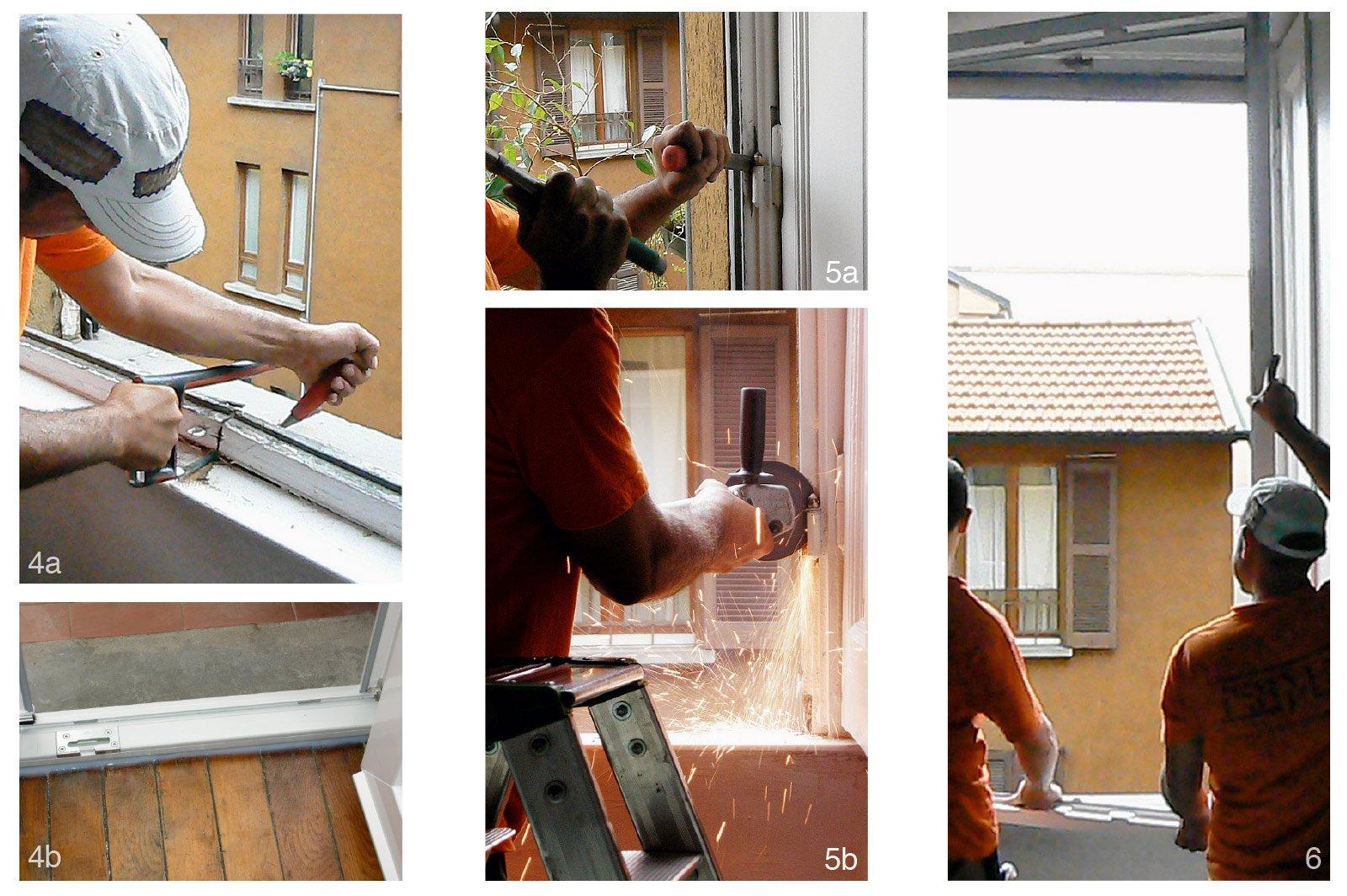 Sostituire le finestre 14 fasi di lavoro cose di casa - Cerniere per finestre in legno ...