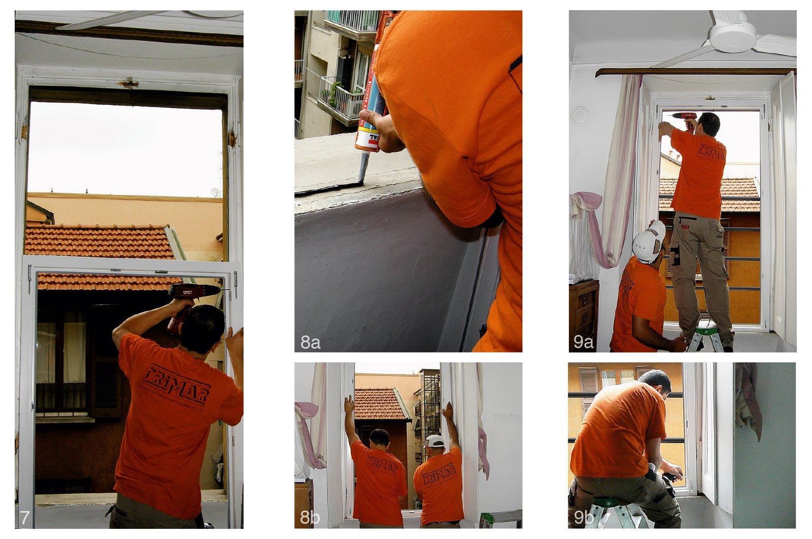 Sostituire le finestre 14 fasi di lavoro cose di casa - Quanto costa una porta finestra in pvc ...