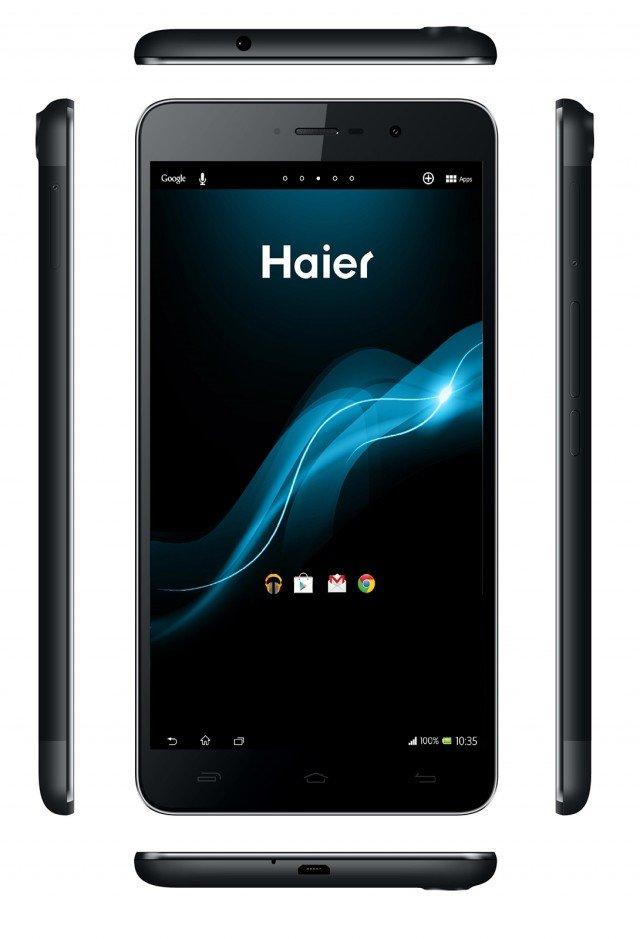 HaierPad H6000 ha display da 6″ con risoluzione 1920 x 1080 pixel, processore quad-core, 8 o 16 GB di memoria interna e memoria RAM di 2 GB. Doppia fotocamera, di cui quella principale da 13 megapixel e quella secondaria da 5 megapixel e sistema operativo Android 4.2 Jelly Bean.