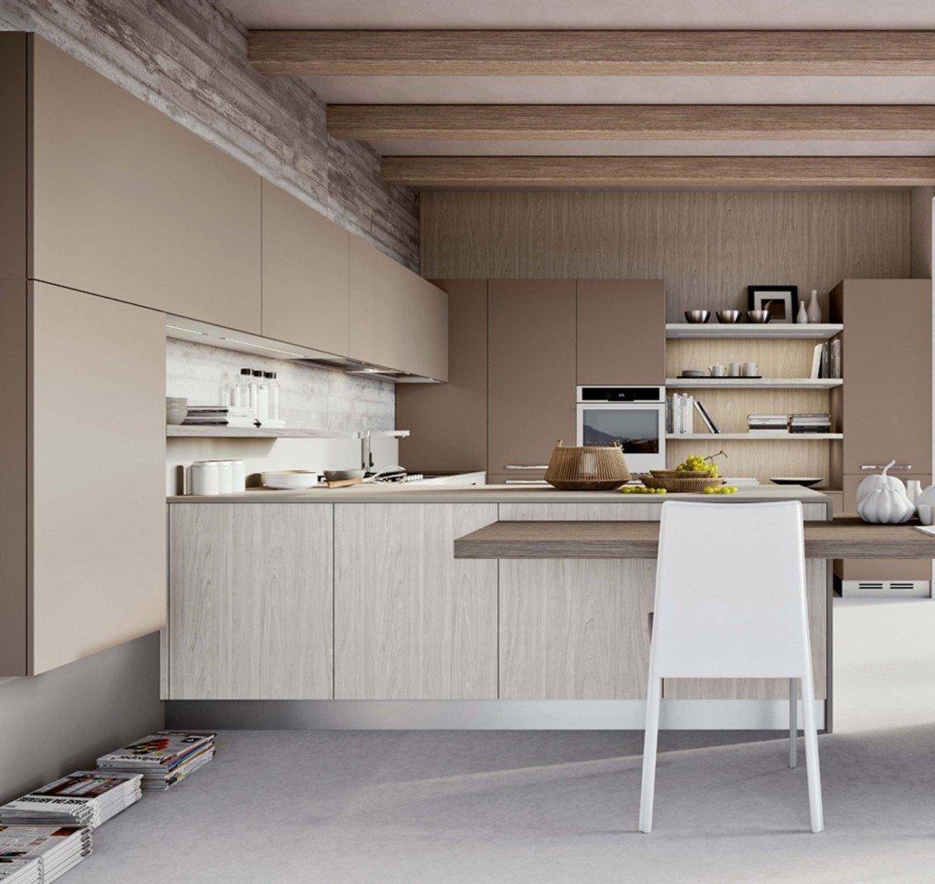 Cucina tante soluzioni per illuminarla cose di casa - Mensole cucina moderna ...