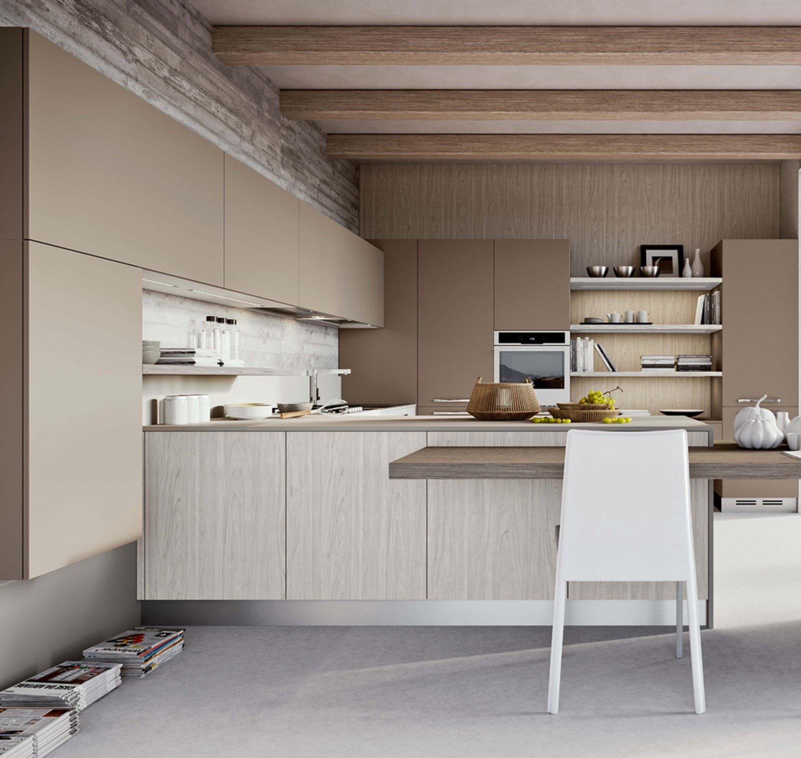 Si Può Integrare Nei Pensili E Nelle Mensole Della Cucina  #5F4D40 1600 1513 Arredare Mensole Cucina Moderna